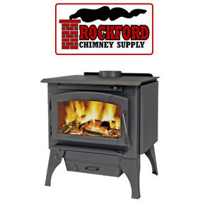 Wood Burning Stove Timberwolf 2100 Complete With Door