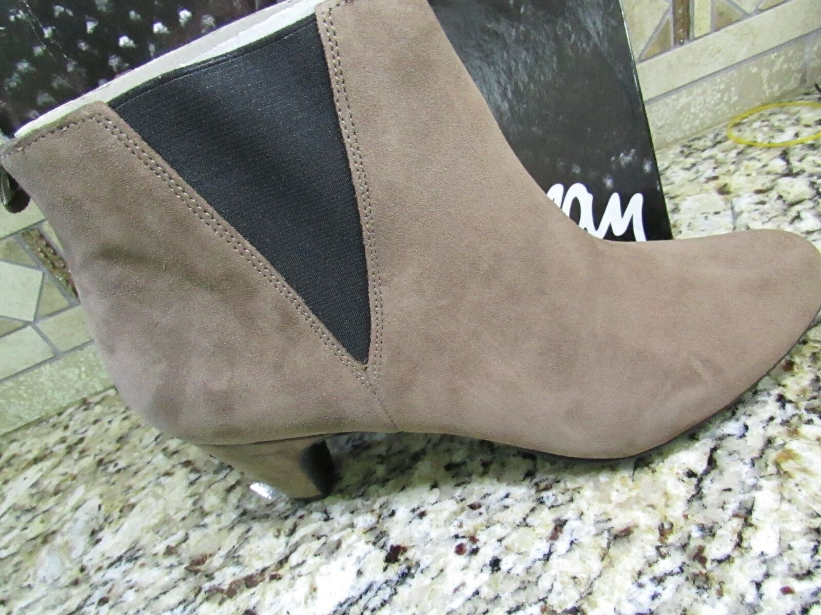 NEW SAM EDELMAN MORILLO SUEDE LEATHER ANKLE BOOTIES BOOTS WOMENS 9