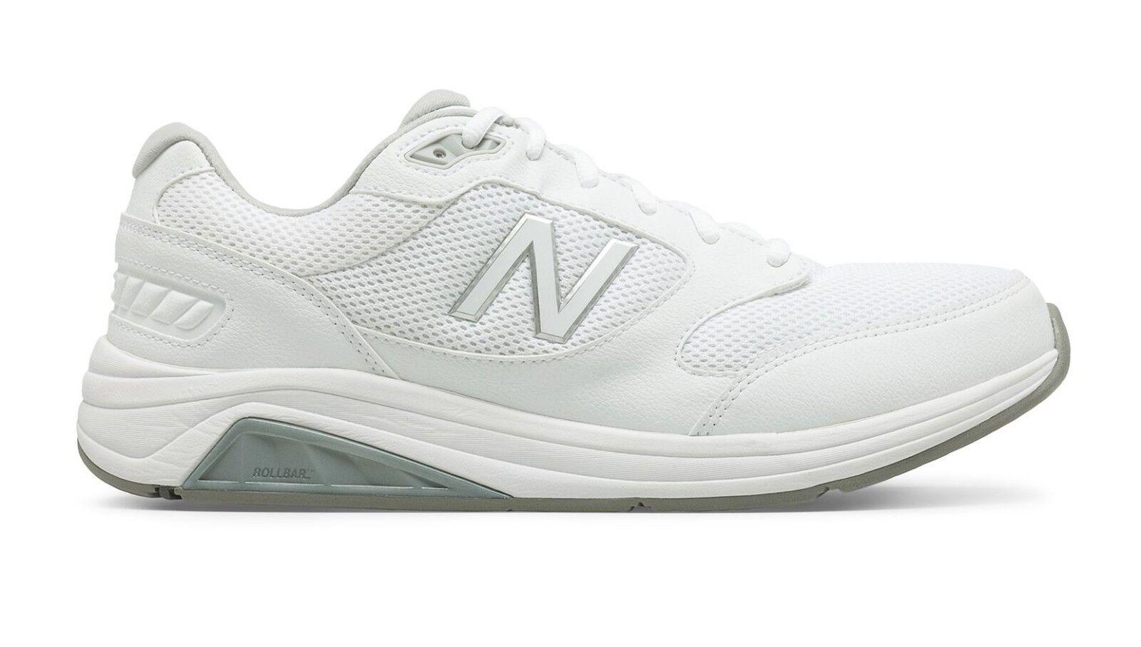 New Balance MW928WM3 Men's 928Hv3 White Mesh Athletic Walking Shoes