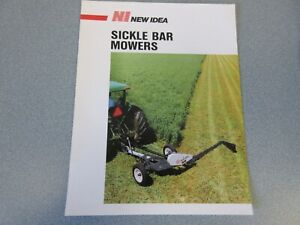 Details about New Idea Sickle Bar Mowers Sales Sheet