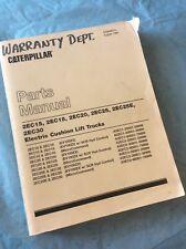 Cat Caterpillar 2ec15 2ec18 2ec20 2ec25 2ec30 Parts Shop Service Book Manual
