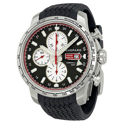 Chopard Mille Miglia 2013 Limited Edition Black Dial Black Rubber Mens Watch