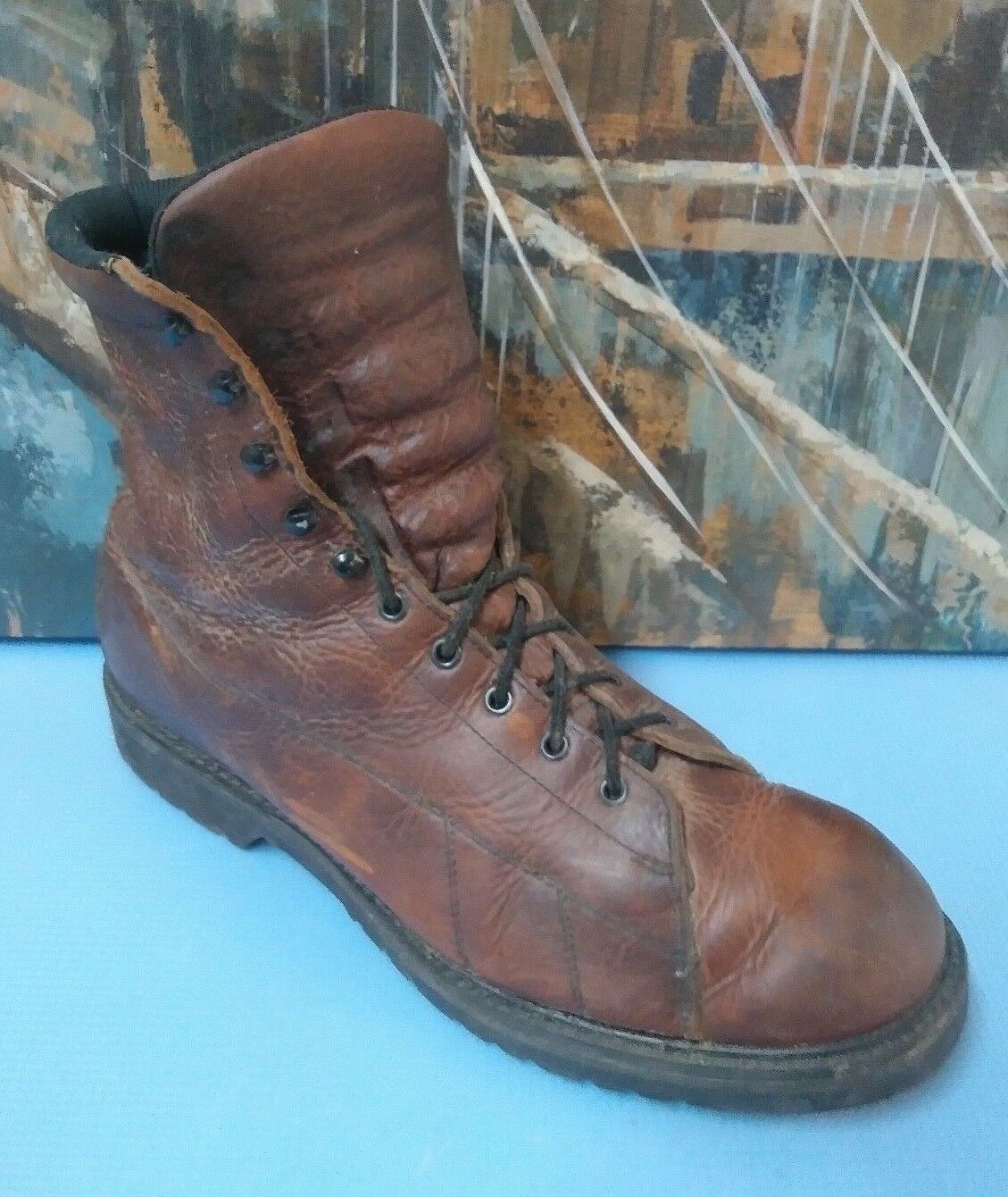 Cush- N work hunting boots size 12 D Brown