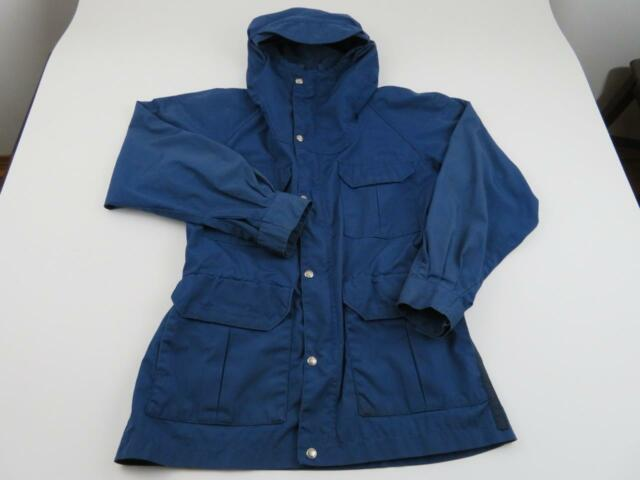 fdb6e9cd8 The North Face Men's Hooded Rain Wind Jacket S Vented Blue Full Zip  Packable | eBay