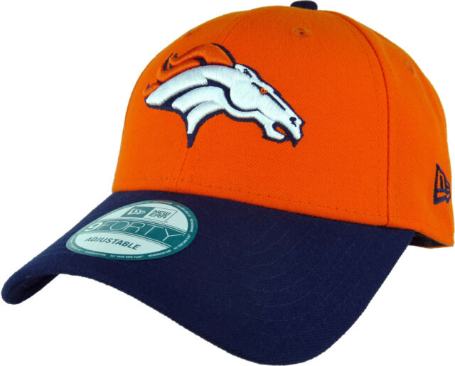 online store b83ad 5985e Denver Broncos New Era 940 NFL The League Adjustable Cap