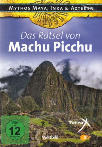 1 von 1 - DVD NEU/OVP - Das Rätsel von Machu Picchu - Mythos Maya, Inka & Azteken
