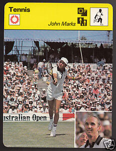 JOHN-MARKS-Australia-Tennis-Player-Photo-1979-SPORTSCASTER-CARD-103-23