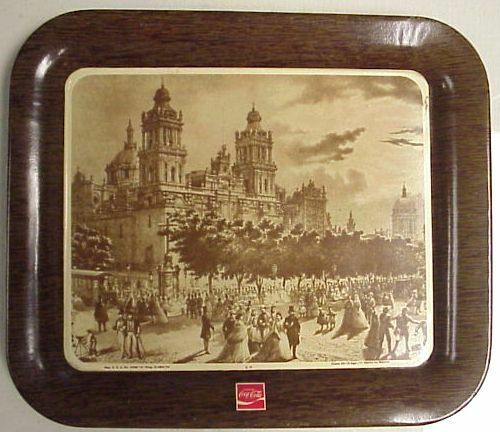 COCA COLA MEXICAN MEXICO SPANISH TIP TRAY 1971 NEAR MINT