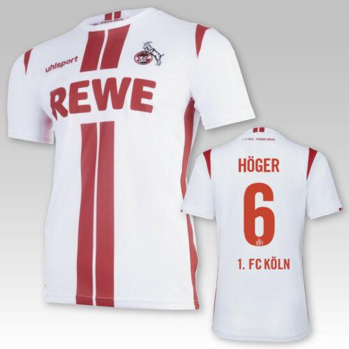 1 FC Köln Heimtrikot Erwachsene Saison mit//ohne Spielerflock 2020//21