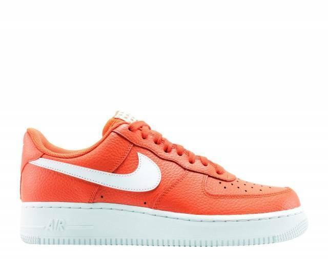 Nike Air Force  1 07 AF1 Team arancia bianca Men Scarpe AA4083 -800  rivenditori online
