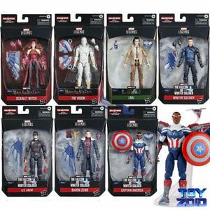 Marvel Legends Wave 1 Captain America Flight Gear US Agent Zemo Scarlet Witch