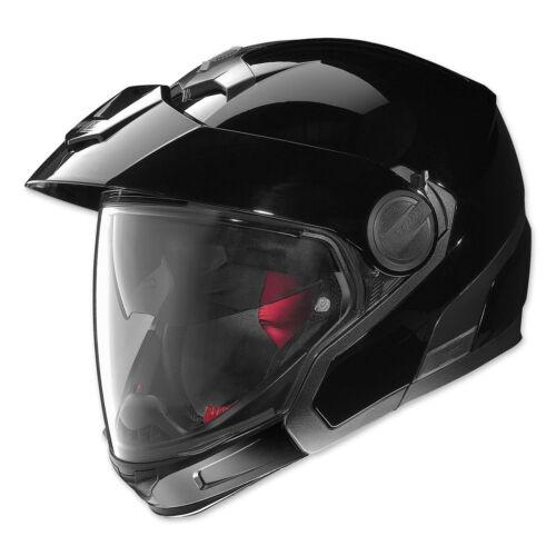 Nolan N40 Full NCOM Dual Sport Motorcycle Helmet Glossy Black