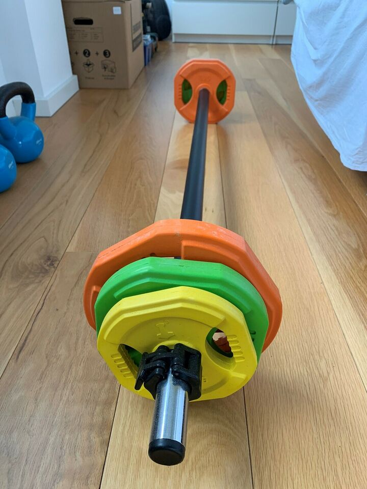 Vægtstang, Vægtstang med 20 kg