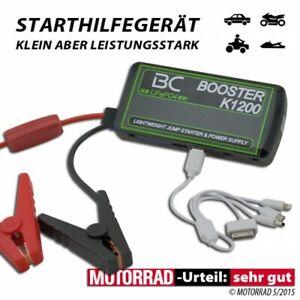 Booster Charger BC K1200 Mobile Phone Satnav USB Starter Help For Bike And Car