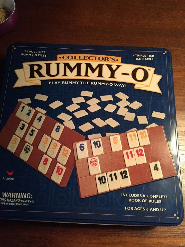 Collector's Rummy-O, Børne-familie spil, andet spil