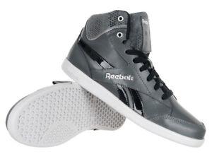 Online bestellen hell im Glanz Vielzahl von Designs und Farben Details about Reebok Fabulista MID II Women's Black Leather Sports Shoes Hi  Tops Sneakers