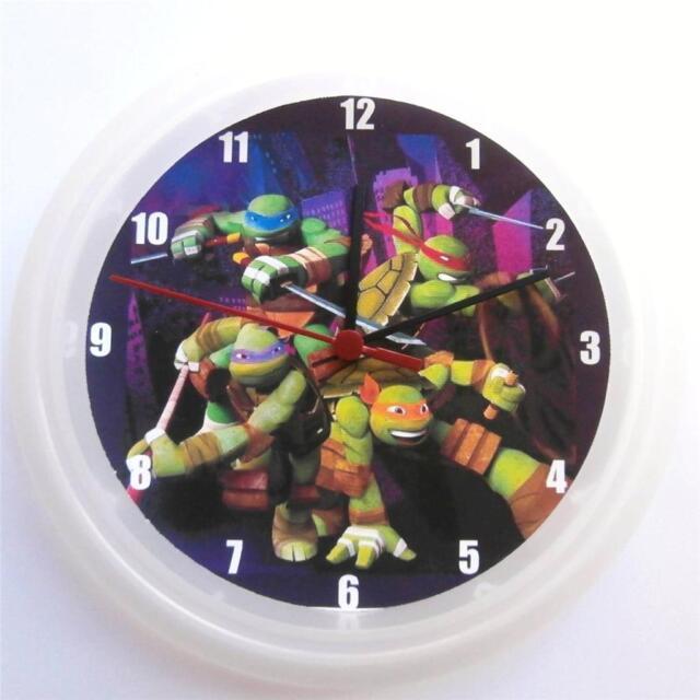 Wall Clock Tmnt Teenage Mutant Ninja Turtles Ebay