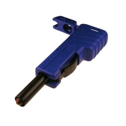 Stecker SLS200 Hirschmann 4mm Schiebehülsensystem schrauben 2,5mm² blau 742278