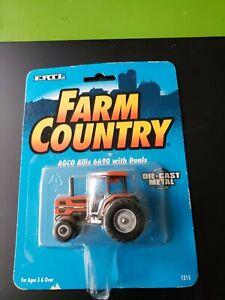 Ertl-Farm-Country-Toy-Agco-Allis-6690-2WD-Tractor-w-Duals-1215-w-Free-ship