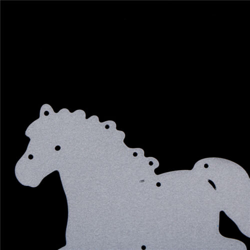 Horse Metal Cutting Dies For Scrapbooking Embossing DIY Paper Cards Decor  Kx