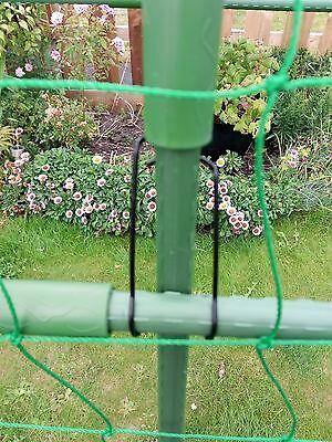 MOLLA clip di fissaggio adatto per 12mm 16mm e 20mm Pali e bastoni di bambù