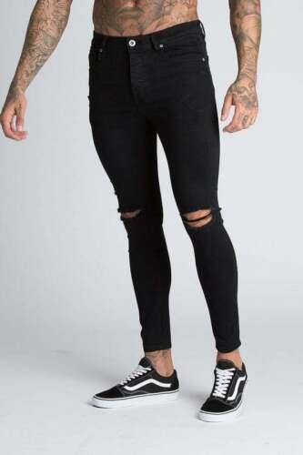 Kings Will Dream Lumor Skinny Distressed Jeans Black