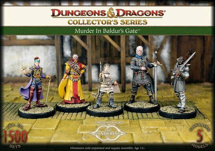 D&D Collector's Series Murder in Baldur's Gate  Limited 1500 pz. GF9 miniatura  negozio online