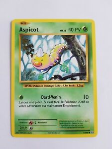 Carte Pokemon ASPICOT 5//108 Commune Reverse XY12 Française NEUF
