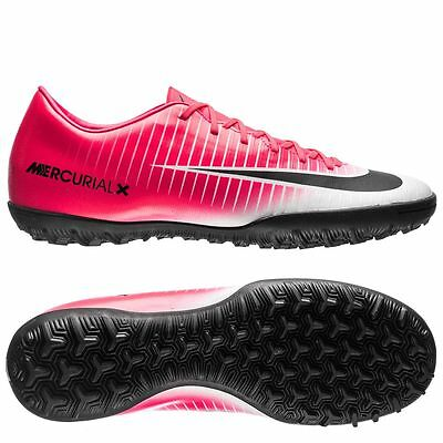 septiembre cambiar Discriminación sexual  Nike Mercurial Victory VI TF Turf 2017 Soccer Shoes New White Pink Black |  eBay