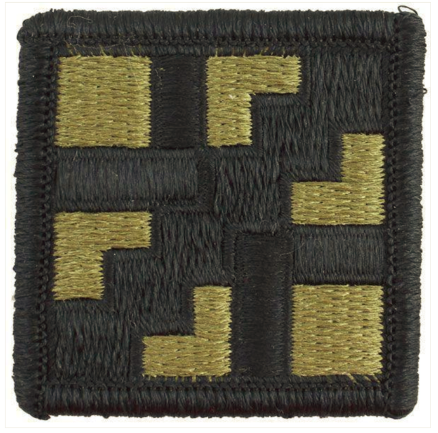 411th engineer brigade patch ssi u s subdued color k7 army paviljoen stormvogel
