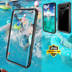 For-Samsung-S10-S10e-S10-Plus-Waterproof-With-Front-Screen-Protector-Phone-Case