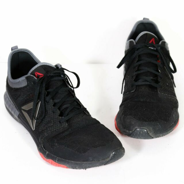 8b954400ecd Reebok Mens Zprint 3D Running Shoes BD3222 Size 12 Black Gray Red Train  Athletic
