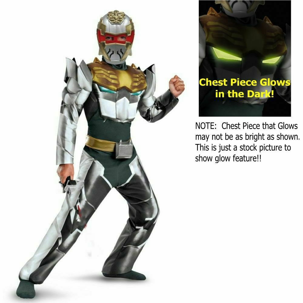 Power Rangers Large Megaforce Robo Knight Muscle Child Costume
