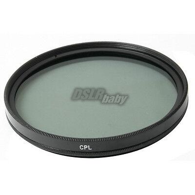 M52 58mm 52 Circular Polarizing CPL Lens Filter C-PL for Canon Nikon Sony Camera