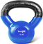 thumbnail 1 - Yes4All Vinyl Coated Kettlebell Weights, Weight Available: 5, 10, 15, 20, 25, 30