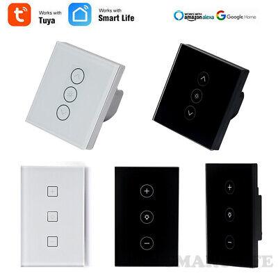 Nrpfell WiFi Smart Dimmer Light Switch Module Smart Life//Tuya App Control Remoto Trabaja con Alexa Echo Home