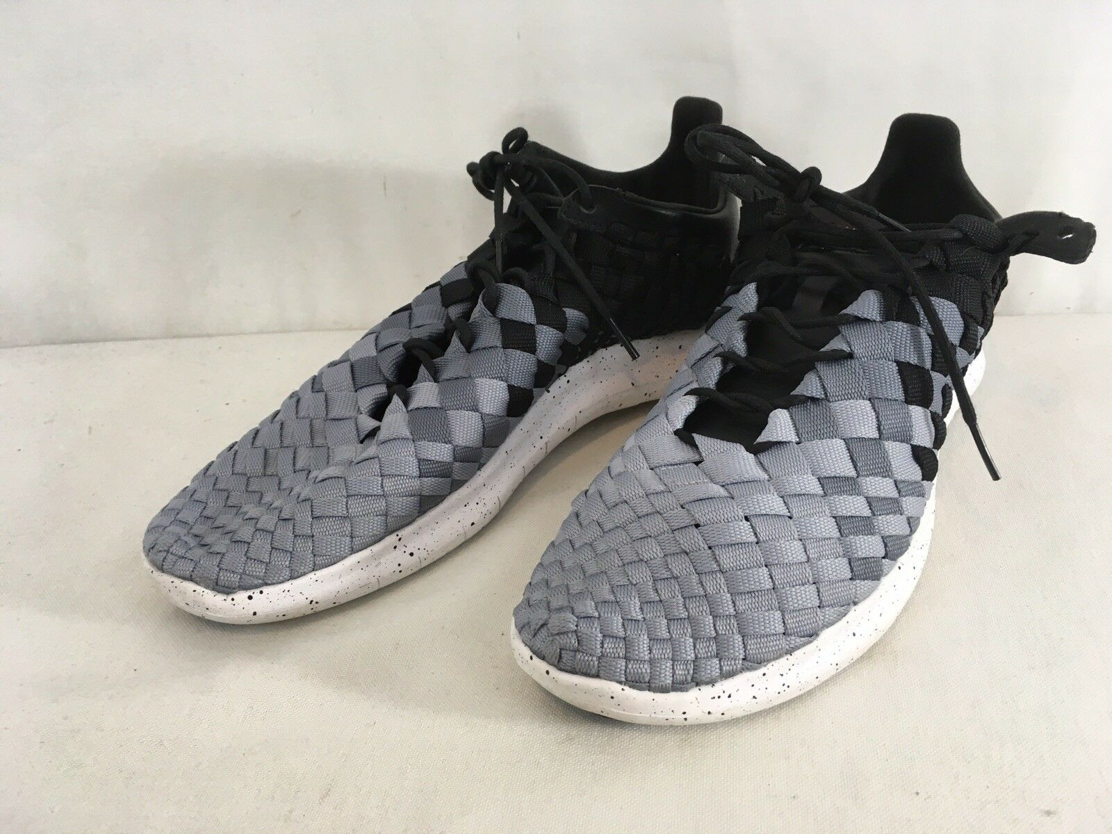 Nike Lab Inneva Free Woven 894995-001 Mens 11 Black Silver Sneaker shoes
