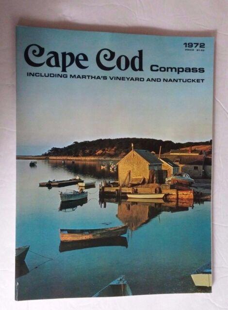 Cape Cod Compass Magazine Vintage 1972 Volume 25 Martha's Vinyard Nantucket