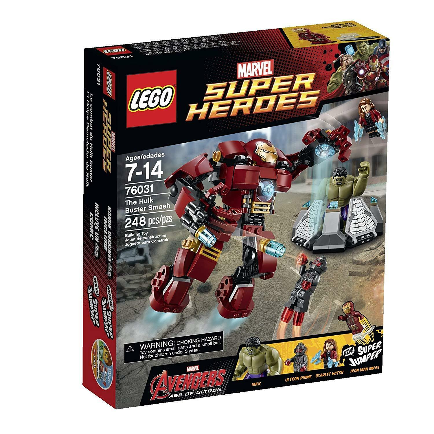 Lego DC Super Heroes 76031 The Hulk Buster Smash Marvel NISB