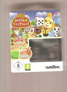 ANIMAL-CROSSING-Amiibo-Festival-COFFRET-COLLECTOR-Superbe-sur-Wiiu-NEUF
