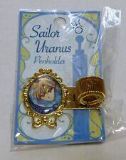 Sailor Moon Pen Holder Uranus Haruka Schedule Note Book RARE Kawaii 20th Limited