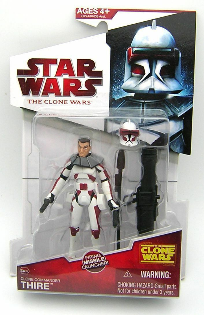 Star Wars Clone Wars CW32 Clone Commander Thire