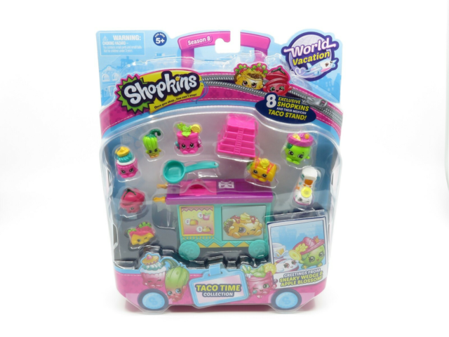 Andet legetøj, Shopkins World Vacation Taco Time…