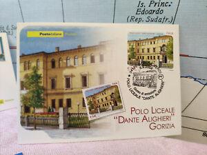 Brillant Cartolina Polo Liceale Dante Alighieri Gorizia Timbro 2008 L5