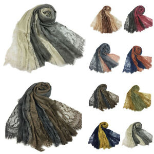 Muslim-Women-Cotton-Lace-Flower-Long-Scarf-Hijab-Arab-Tassel-Shawl-Scarves-Wraps