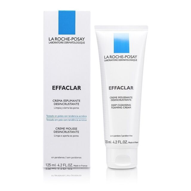 La Roche Posay Effaclar Deep Cleansing Foaming Cream 125ml Cleansers