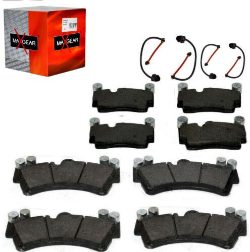 Bremsbelägesatz+4xWK Vo+Hi AUDI Q7 TOUAREG PORSCHE CAYENNE 955 3.2 3.6 4.5 4.8