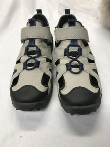 Land-039-s-End-Sandals-Gray-Garcons-Boys-Size-4