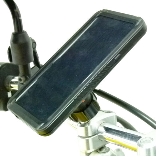 Motorcycle M8 Bike Mount Kit & TiGRA FITCLIC Neo DRY Case for iPhone 7