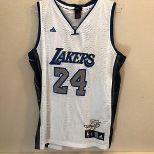 La Lakers Kobe Bryant Jersey Adidas Blue White Gold Gray Mens L Rare Ebay